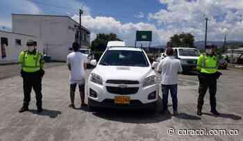 Recuperada en Chinchiná camioneta robada en Buga – Valle - Caracol Radio