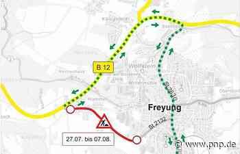 Asphalt für Passauer Straße: Vollsperrung ab Montag - Passauer Neue Presse
