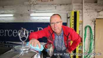 Jürgen Zell aus Reilos hat Mercedes-Limousine von 1936 restauriert - Hersfelder Zeitung