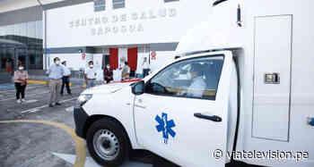 COVID19: implementan con vehículos al centro de salud de Saposoa - VIA Televisión
