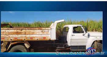 Caminhão furtado em Andradas é localizado em Espirito Santo do Pinhal - ANTV - Notícias de Andradas e região - TV de Andradas