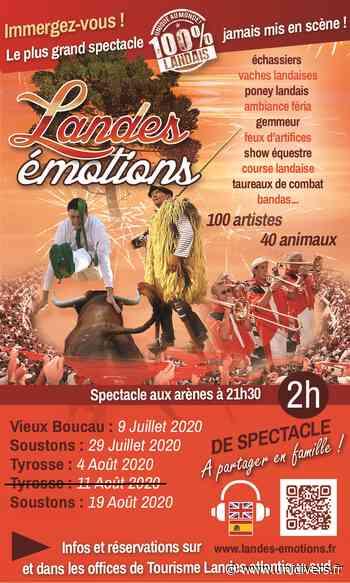 Spectacle Landes Emotions Saint-Vincent-de-Tyrosse - Unidivers