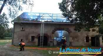 Une ancienne ferme détruite par le feu - La Presse de Vesoul