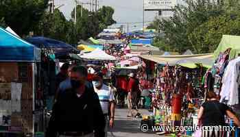 Abarrotan mercado de la colonia Bellavista; ignoran medidas - Periódico Zócalo