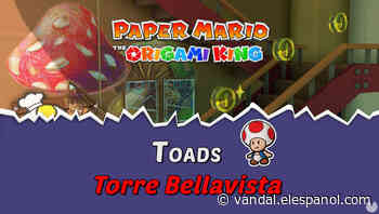 TODOS los Toads en Torre Bellavista de Paper Mario The Origami King - Vandal