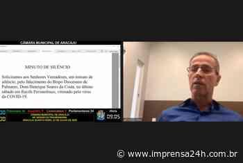 Diário Oficial Eletrônico de Aracaju é aprovado por vereadores - https://www.imprensa24h.com.br/