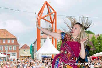 Bischofswerda: Tanztheater auf dem Markt - Sächsische Zeitung
