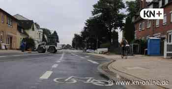 Landweg in Bad Bramstedt: Radfahrer bekommen eigene Spur - Kieler Nachrichten