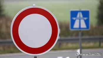 A6 in den kommenden Nächten bei Bad Rappenau gesperrt - SWR