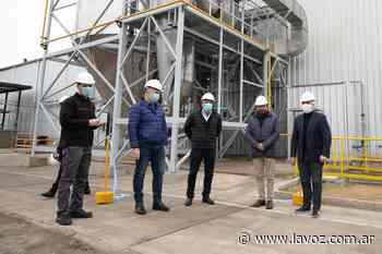 Conectada a la troncal de gas, pusieron en marcha la planta de concentrados proteicos de Porta - La Voz del Interior