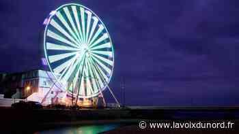 À Wimereux, la nuit, la grande roue dévoile tous ses charmes - La Voix du Nord