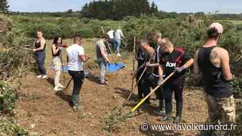 À Wimereux, un chantier nature pour repartir du bon pied - La Voix du Nord