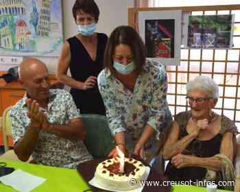 LE CREUSOT : «Je suis comme la faïence de Gien, je suis incassable», dit Angèle Villeret qui a fêté ses 100 ans - Creusot-infos.com