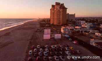 ¡De película! Ve el cine frente al mar en Rosarito, Baja California - Uno TV Noticias