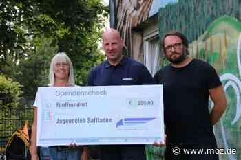 Jugendarbeit: 12 Jahre Saftladen in Falkensee - Märkische Onlinezeitung