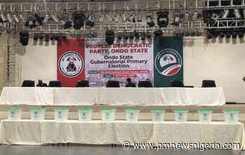 #OndoPDPPrimaries: Live updates from Akure - P.M. News