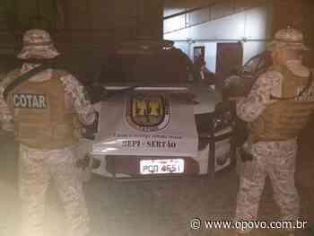 Polícia Militar apreende duas armas de fogo em Quixeramobim neste domingo - O POVO