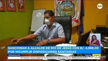 Noticias Veragüenses aprueban sanción al alcalde de Río de Jesús - TVN Panamá