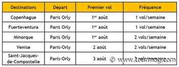 Vueling ajoute 5 routes au départ de Paris Orly en août - TourMaG.com
