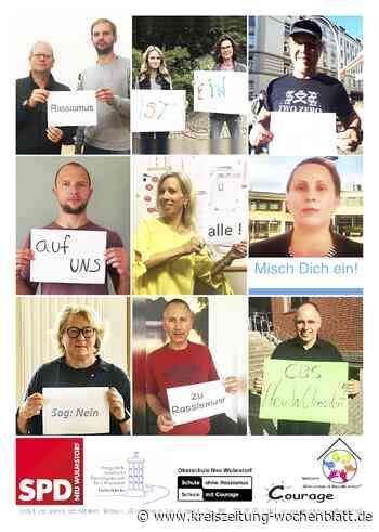 Oberschule Neu Wulmstorf ist jetzt auch dabei: Demo gegen Rassismus - Kreiszeitung Wochenblatt
