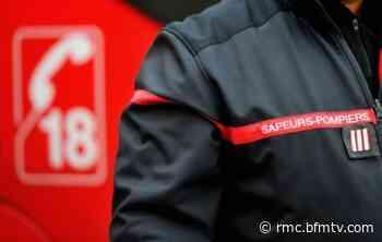 « Inacceptable »: les pompiers manifestent à Etampes après la blessure par balle d'un des leurs - RMC