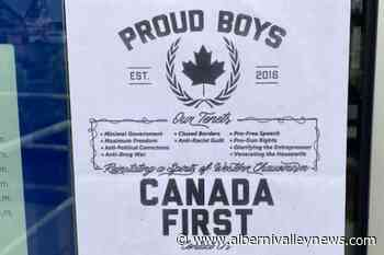 Far-right Proud Boys posters popping up in Kamloops - Alberni Valley News