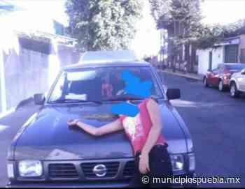 Roban camioneta en estacionamiento de empresa refresquera en Tecamachalco - Municipios Puebla