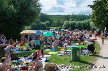 Nach Chaos in Neckartailfingen: Nur 1.000 Badegäste dürfen an Aileswasensee - esslinger-zeitung.de