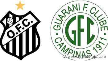 Futebol ao vivo – Assistir Operário-PR x Guarani ao vivo pelo Campeonato Brasileiro Série B - A Folha Hoje