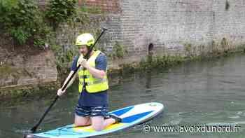 Aire-sur-la-Lys : profitons des week-ends de l'été pour tester le paddle - La Voix du Nord
