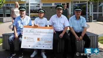 Drolshagen: Blecher Schützen spenden 3000 Euro für Balthasar - WP News