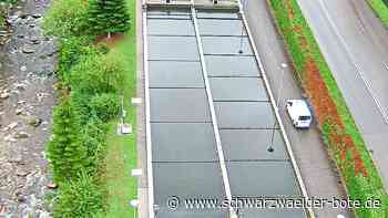 Triberg: Viel Regen erschwert Arbeit - Triberg - Schwarzwälder Bote