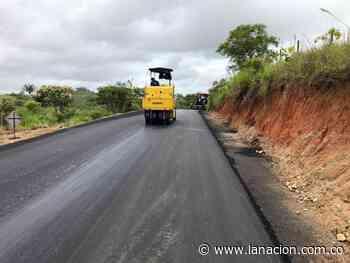 Avanza pavimentación de la vía Paujil – Cartagena del Chairá en Caquetá • La Nación - La Nación.com.co