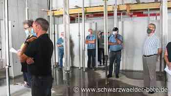 Sulz a. N. - Der Rohbau ist jetzt fertiggestellt - Schwarzwälder Bote