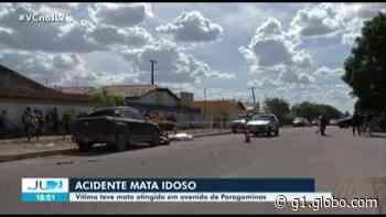 Motociclista idoso morre em acidente de trânsito em Paragominas, no PA - G1