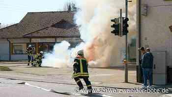 Burladingen - Feuerwehr auch in Pandemie einsatzfähig - Schwarzwälder Bote
