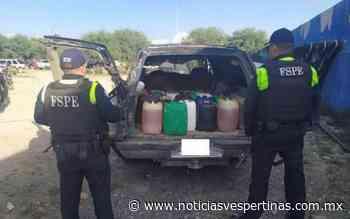 Detienen a dos huachicoleros en Romita - Noticias Vespertinas