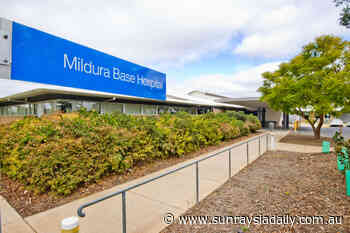 Mildura Base Hospital patients get only one visitor - Sunraysia Daily