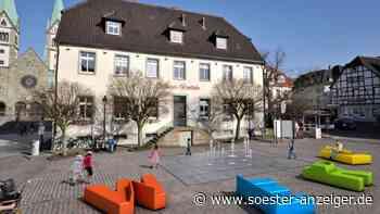 Fördermittel für Stadtquellen auf dem Marktplatz Werl - Soester Anzeiger