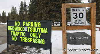 Redwood Meadows puts up No Trespassing signs - CochraneNow.com
