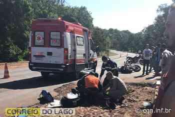 Motociclista morre em acidente na PR-317, em Santa Helena - CGN