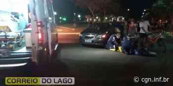 Ciclista é atropelado no centro de Santa Helena - CGN