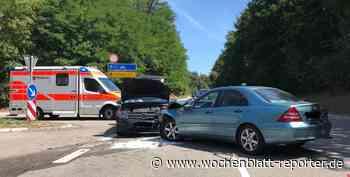 Verkehrsunfall bei Weilerbach: Zwei Verletzte und hoher Sachschaden - Weilerbach - Wochenblatt-Reporter