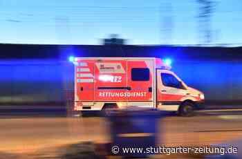 Streit am S-Bahnsteig Stetten-Beinstein - 27-Jähriger beißt 41 Jahre altem Mann Fingerkuppe ab - Stuttgarter Zeitung