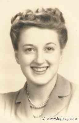 Sybil Edson 1916 - 2020 - Obituary - Legacy.com