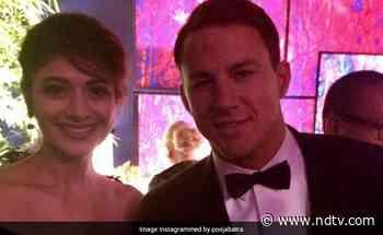 When Pooja Batra Met Channing Tatum At A Vanity Fair Party - NDTV