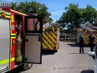 Fire in house in Barons Mead in Millbrook - Daily Echo