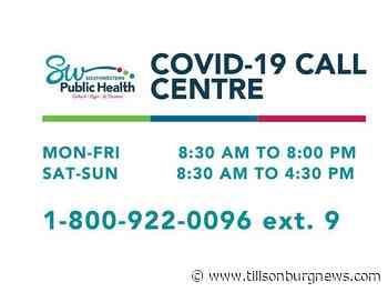 One new COVID-19 case in Tillsonburg - Tillsonburg News