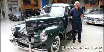 1939 Chrysler Royal Featured on Jay Leno's Garage - Autoweek