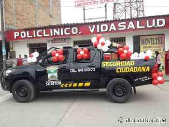 Alcalde de Soritor presenta nuevosvehículos para seguridad ciudadana - DIARIO AHORA